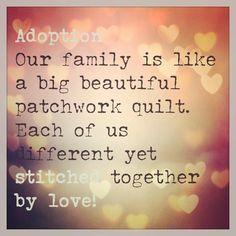 Adoption is ...